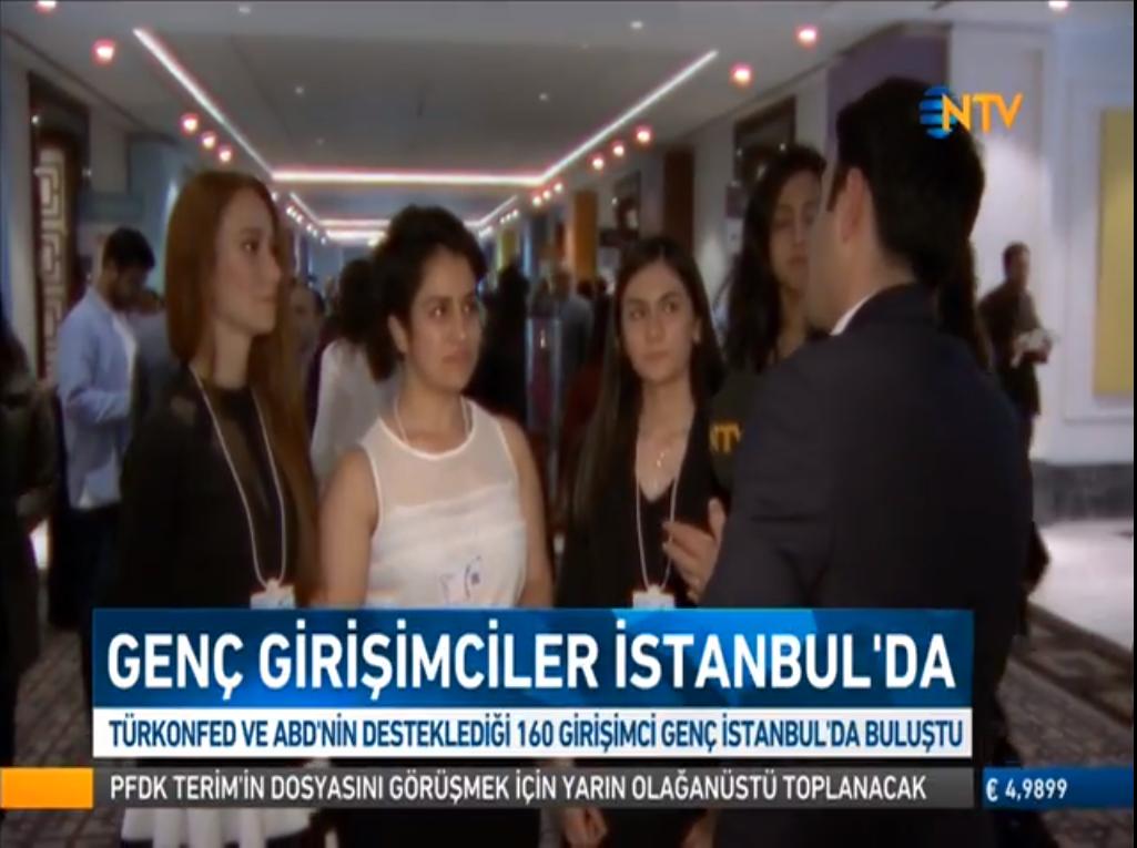 NTV - TÜRKONFED STEM Anadolu Global Girişimcilik Kongresi 18.04.2018