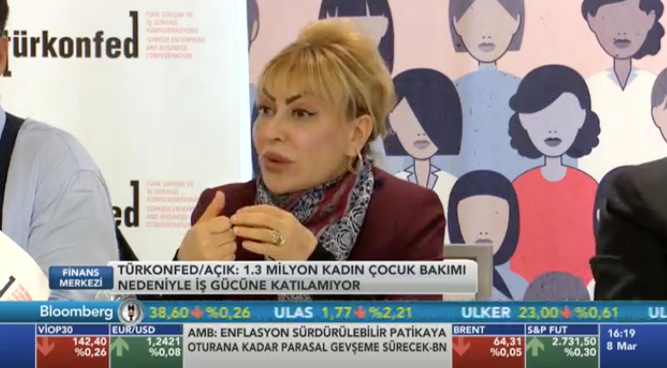 Prof. Dr. Yasemin Açık - Bloomberg HT 07.03.2018