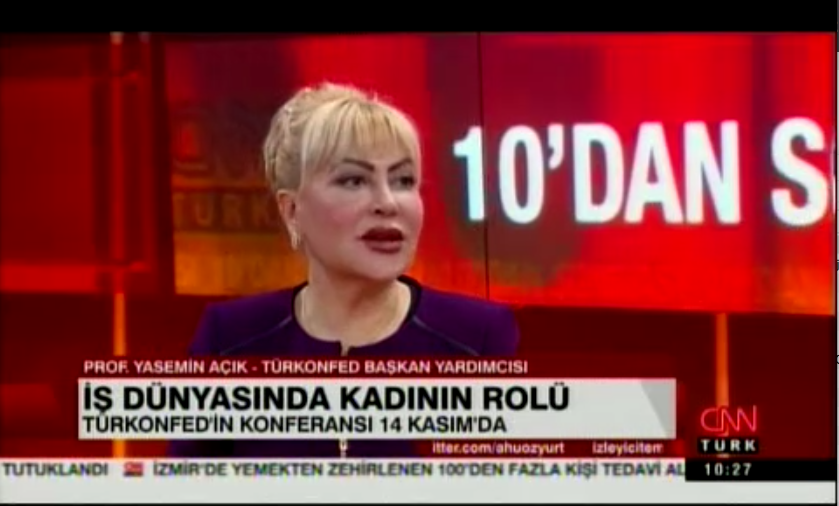 CNN Türk - 11.11.2016 Yasemin Açık
