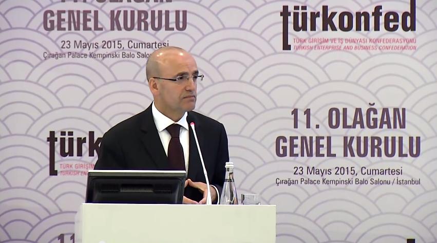 TÜRKONFED 11. Olağan Genel Kurulu Maliye Bakanı Mehmet Şimşek Konuşması