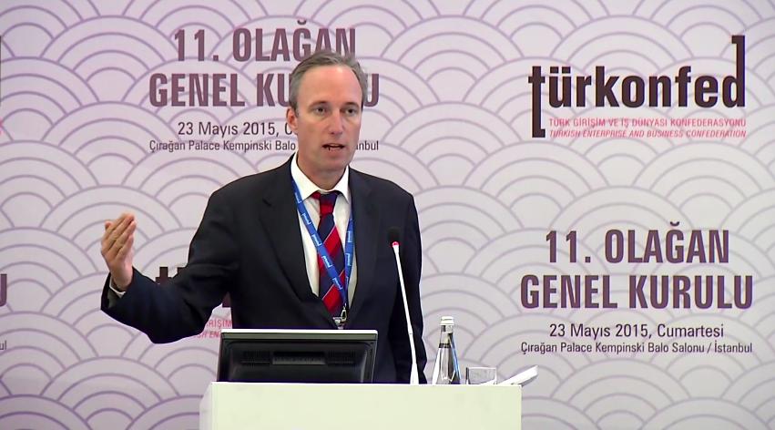 TÜRKONFED 11. Olağan Genel Kurulu - Dünya Bankası Türkiye Direktörü Martin Raiser Konuşması