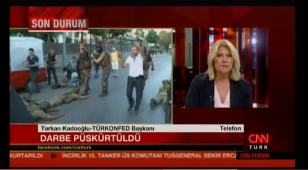 Tarkan Kadooğlu - CNN Türk 17.07.2016