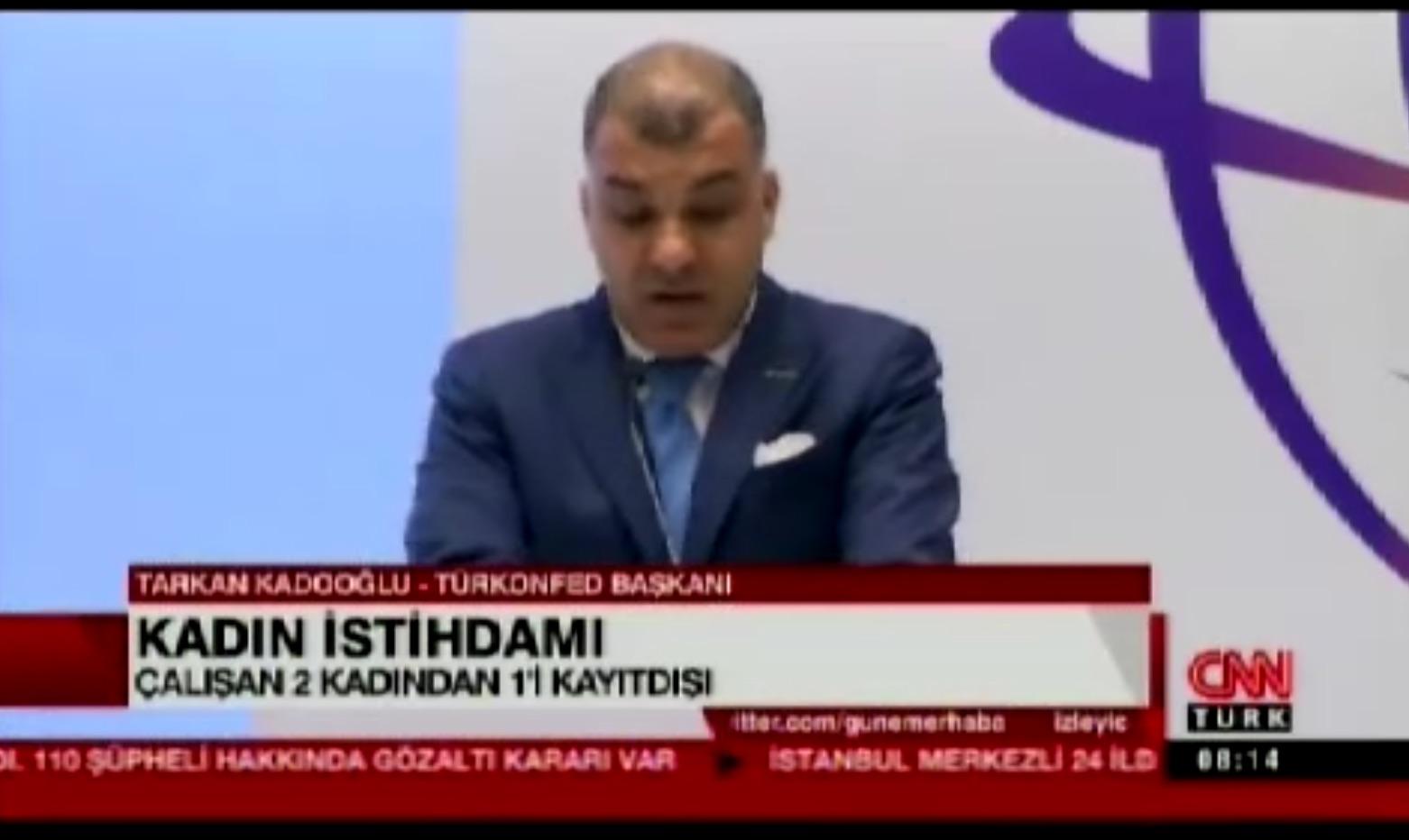 CNN Türk - Sürdürülebilir Kalkınmada Kadının Rolü Zirvesi 20.10.2017