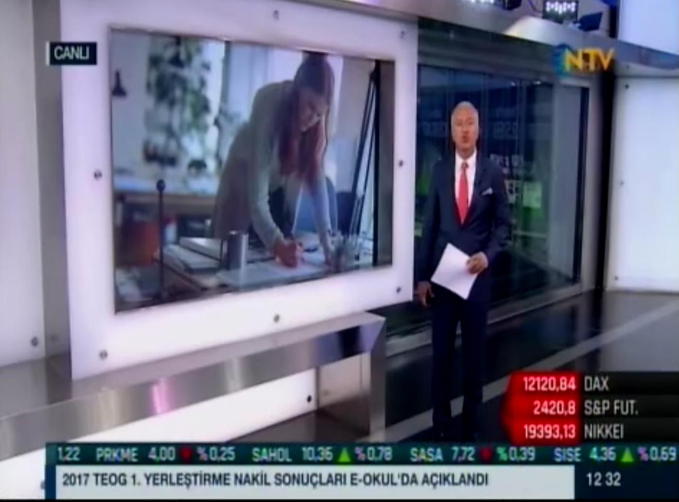 NTV - İş Dünyasında Kadın Raporu - 21.08.2017