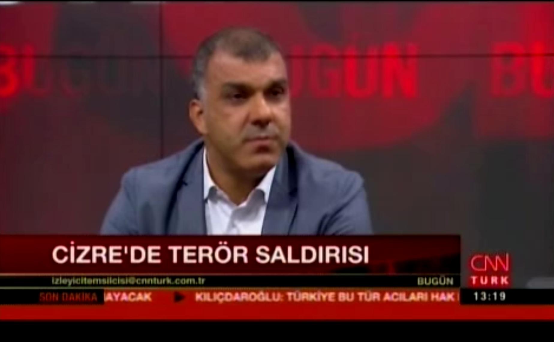 Tarkan Kadooğlu - CNN Türk 26.08.2016