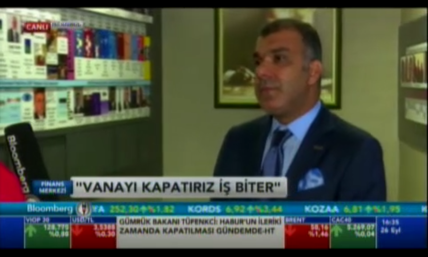 Bloomberg HT - 26.09.2017 Tarkan Kadooğlu