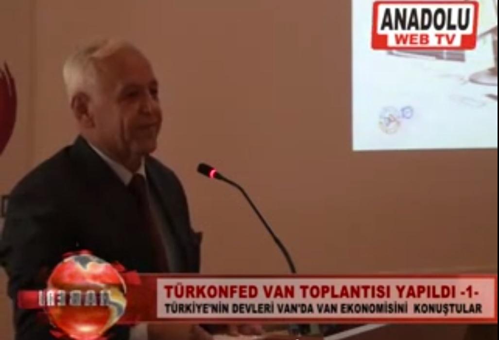 TÜRKONFED KSS Projesi Van Eğitim Toplantısı